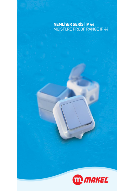 Moisture Proof Range IP 44