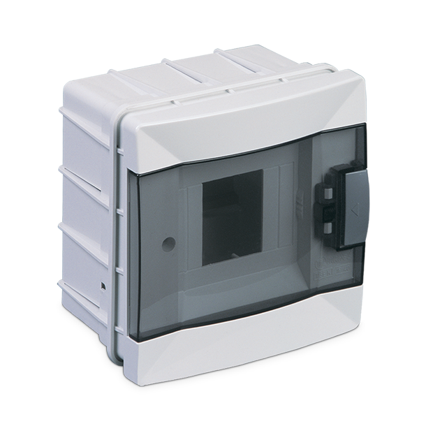 Flush Mount Distribution Box with Terminal Module 4
