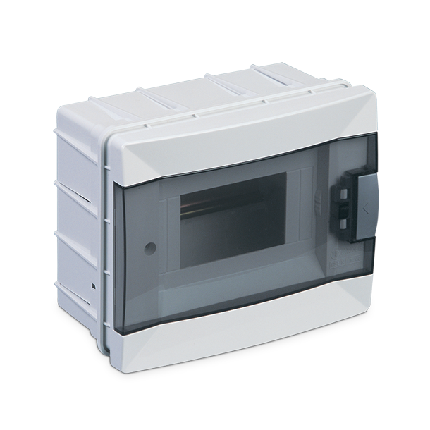 Flush Mount Distribution Box with Terminal Module 6