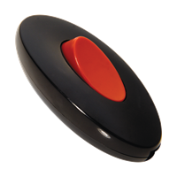 Intermediate -Black - Red Button