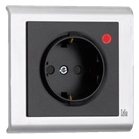 Surge-Protective Socket-Outlet with Child Protection